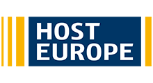 Das Logo der Host Europe